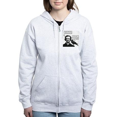 Poe Boy Women's Zip Hoodie