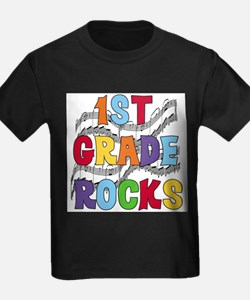 Bright Colors 1st Grade T-Shirt