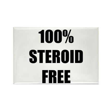 Steroid Free Rectangle Magnet (10 pack)