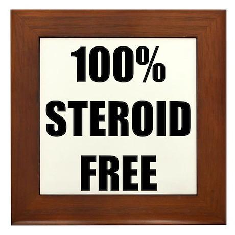 Steroid Free Framed Tile