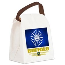 Buffalo (Flag 10).png Canvas Lunch Bag