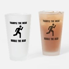 Trample Hurdle Drinking Glass