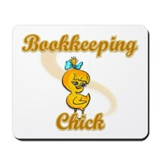 Bookkeeping Chick #2 Mousepad