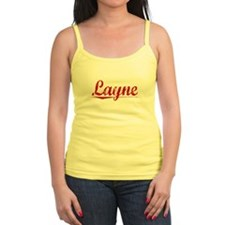 Layne, Vintage Red Tank Top