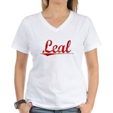 Leal, Vintage Red Shirt