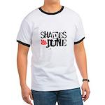 Red/Black Stamp Logo Shirt Ringer T