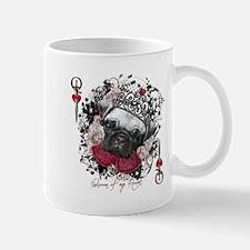 Pug Queen of Hearts Mug