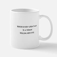 Woman Rolling Eyes Mug