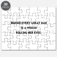 Woman Rolling Eyes Puzzle