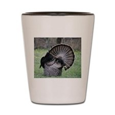 Shake Your Tail Feathers Shot Glass