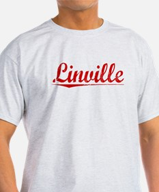 Linville, Vintage Red T-Shirt
