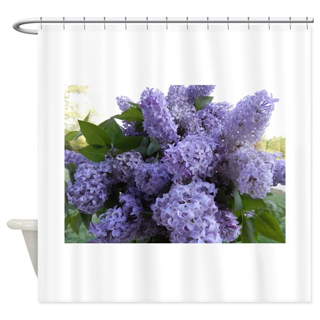 Lilac Lilac Shower Curtain By ChickPixs
