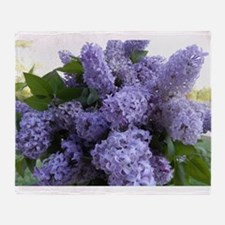Lilac Lilac Throw Blanket