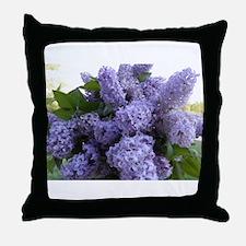 Lilac Lilac Throw Pillow