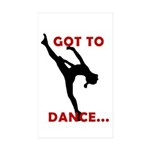Dance Stickers (50)