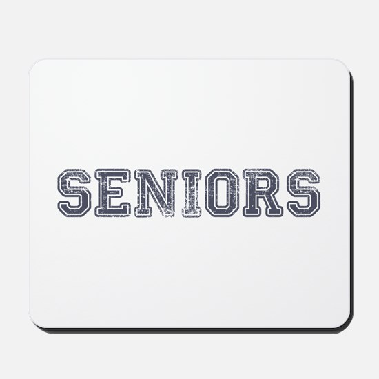 Seniors High School Mousepad
