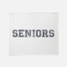 Seniors High School Throw Blanket