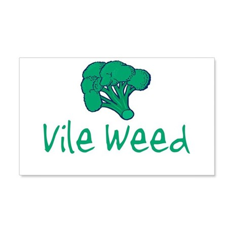 vileweed.png 20x12 Wall Decal
