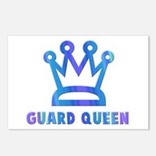 Guard Queen Postcards (Package of 8)