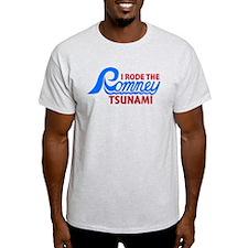 I Rode the Romney Tsunami T-Shirt