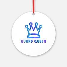 Guard Queen Ornament (Round)