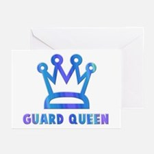 Guard Queen Greeting Cards (Pk of 10)