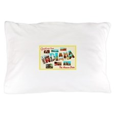Indiana Greetings Pillow Case