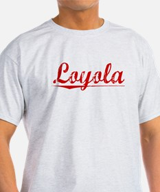 Loyola, Vintage Red T-Shirt