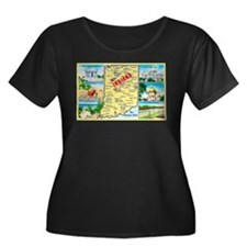 Indiana Map Greetings T