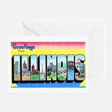Illinois Greetings Greeting Card