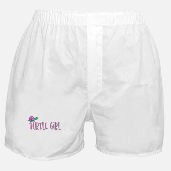 turtlegirl.png Boxer Shorts