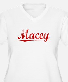 Macey, Vintage Red T-Shirt