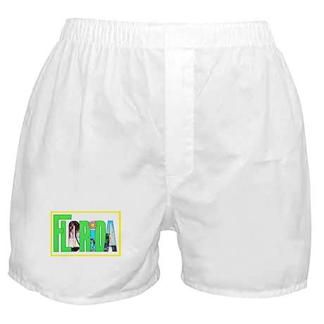 Florida Greetings Boxer Shorts