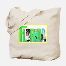 Florida Greetings Tote Bag
