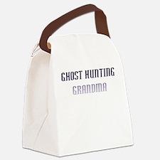Ghost Grandma Canvas Lunch Bag