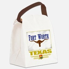 Fort Worth (Flag 10).png Canvas Lunch Bag