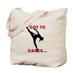 Dance / Gymnastics Tote Bag