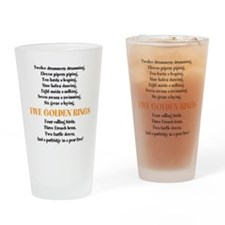 12 Days of Christmas - Drinking Glass