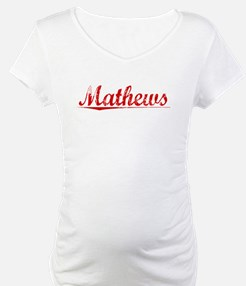 Mathews, Vintage Red Shirt