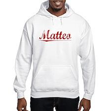 Matteo, Vintage Red Hoodie