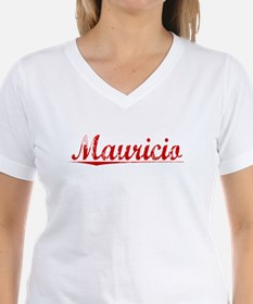 Mauricio, Vintage Red Shirt