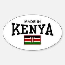 Made In Kenya Decal