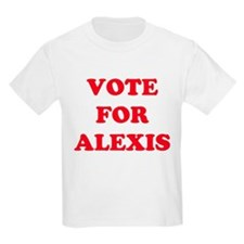 VOTE FOR ALEXIS  Kids T-Shirt