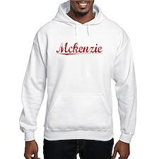 Mckenzie, Vintage Red Hoodie Sweatshirt