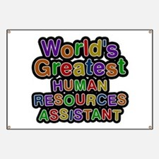 World's Greatest HUMAN RESOURCES ASSISTANT Banner