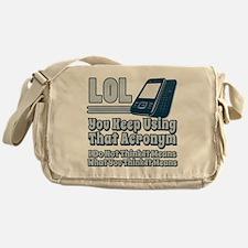 LOL Messenger Bag
