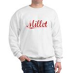 Millet, Vintage Red Sweatshirt