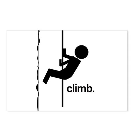 Stick Climber Postcards (Package of 8)