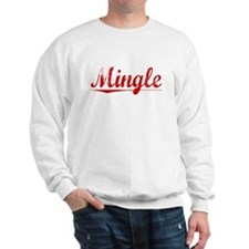 Mingle, Vintage Red Sweatshirt