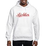 Mishler, Vintage Red Hooded Sweatshirt